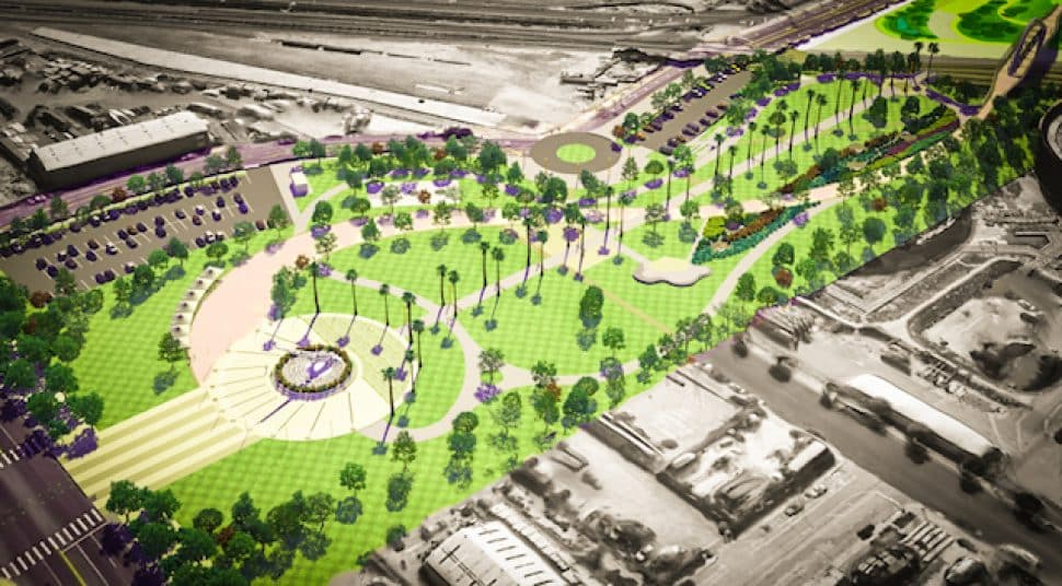 A rendering of the Avalon Promenade & Gateway project. Courtesy of the Port of Los Angeles.