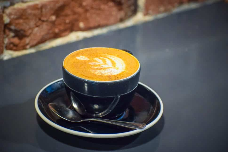 Recreational Coffee's Gold Member Cappuccino. Photo by Brian Addison.