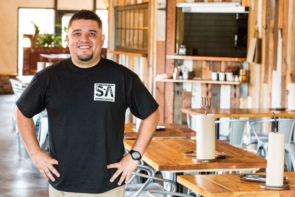 Armando Valezquez, owner of the soon-to-open Long Beach Taco Company, at his Salt & Ash restaurant in Orange County.