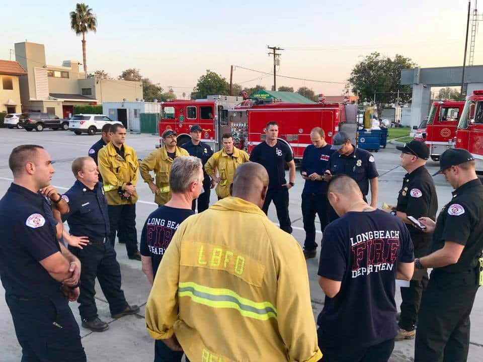 Long Beach Fire Department strike team sent to battle Hill Fire in Ventura • Long Beach Post