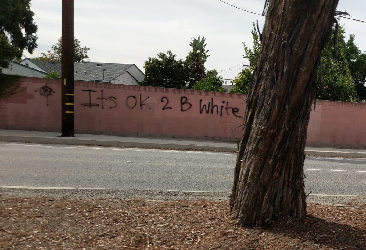 Long Beach Resident Cameron Pullano Said He Was Angry When Spotted This Message Scrawled In East Photo By