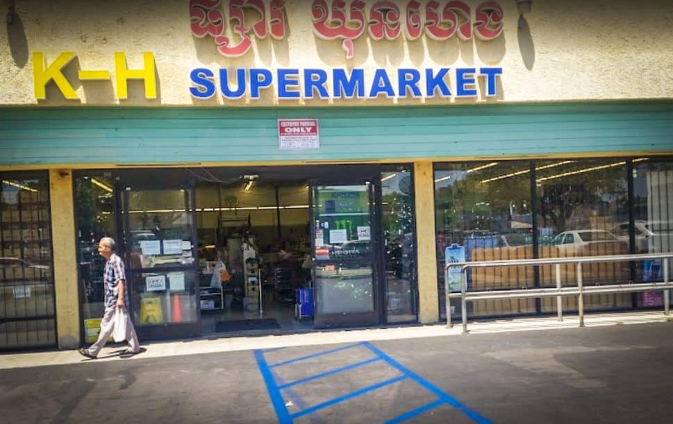 KH Supermarket in Central Long Beach has served the Cambodian community since the 1990s. Photo by Youthea Pich.