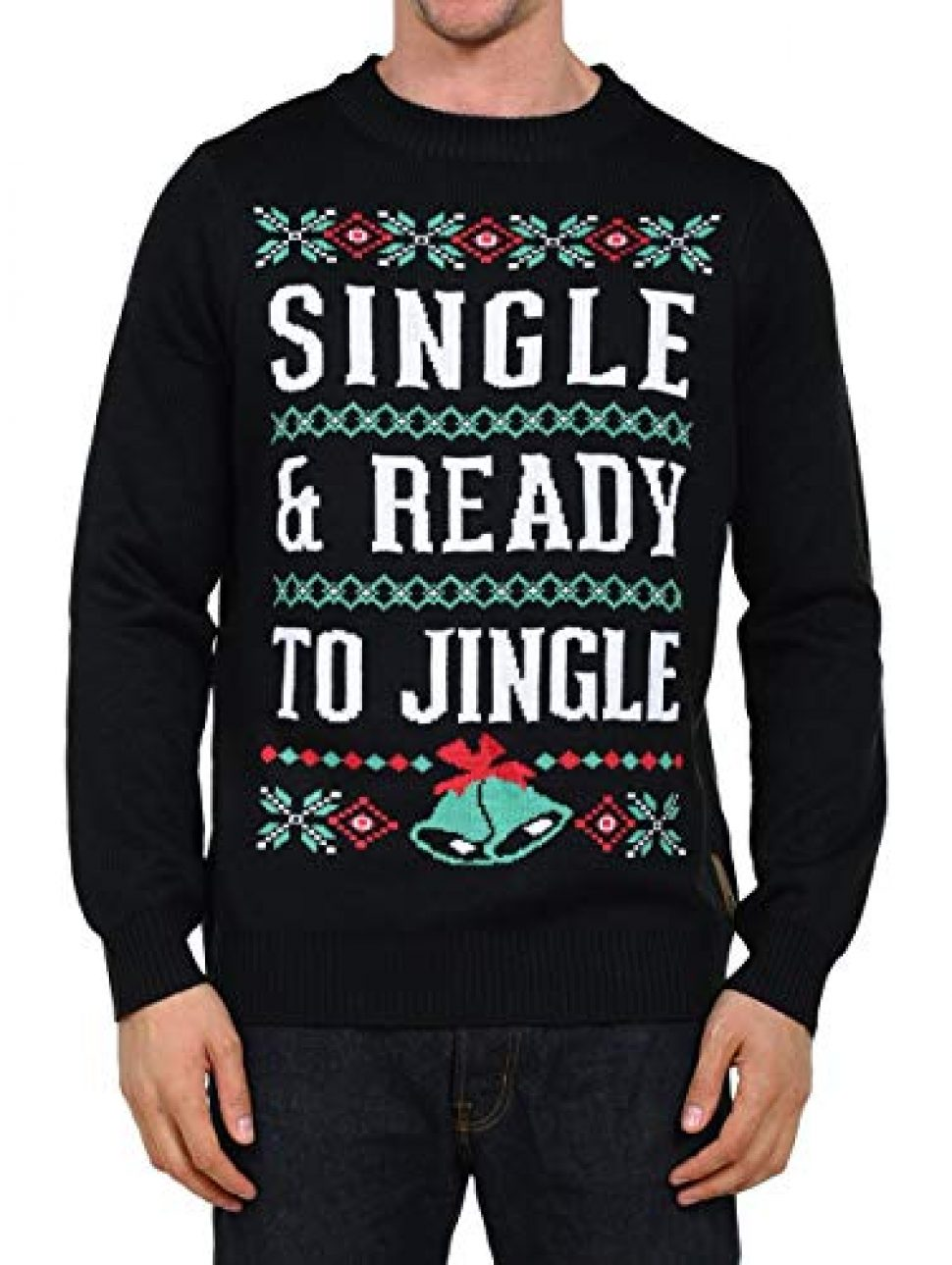 a5a548d506 So here we are  Ugly Christmas Sweater Speed Dating. Now