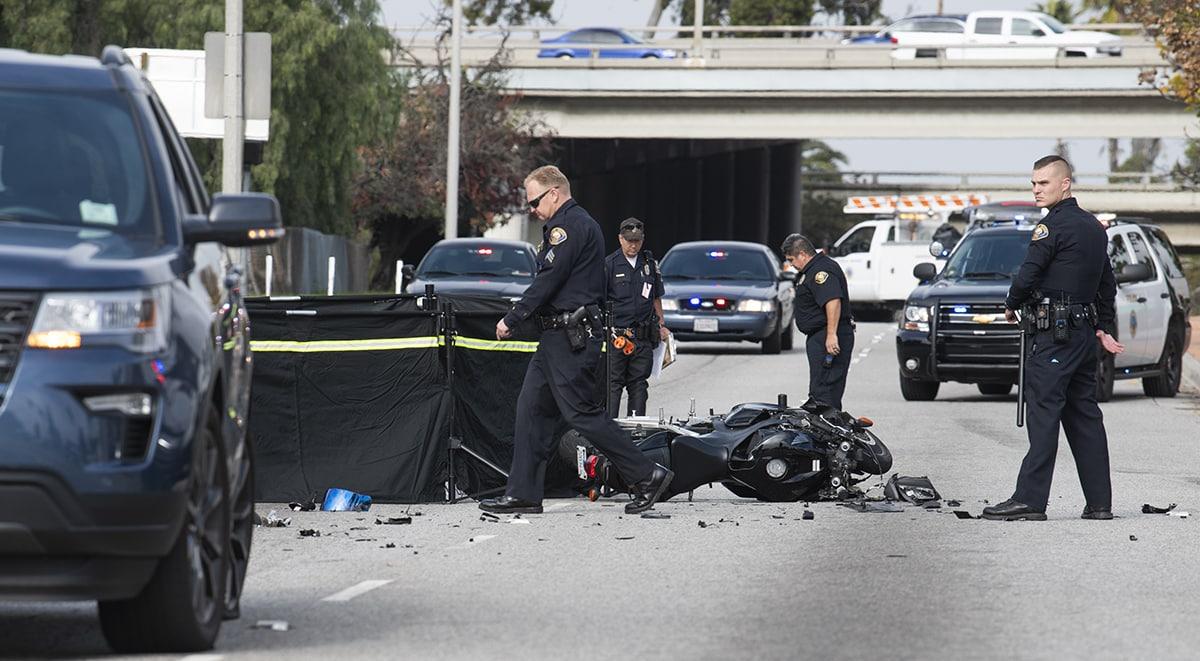 Motorcyclist, 25, killed in crash near Long Beach Airport • Long