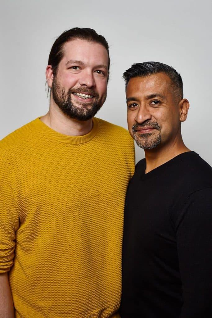 Aiden [left] and Daniel [right] Garcia-Sheffield.