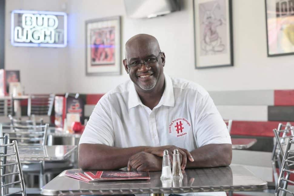 HashTag Burger owner Stephen Pickett. Courtesy of Pickett.