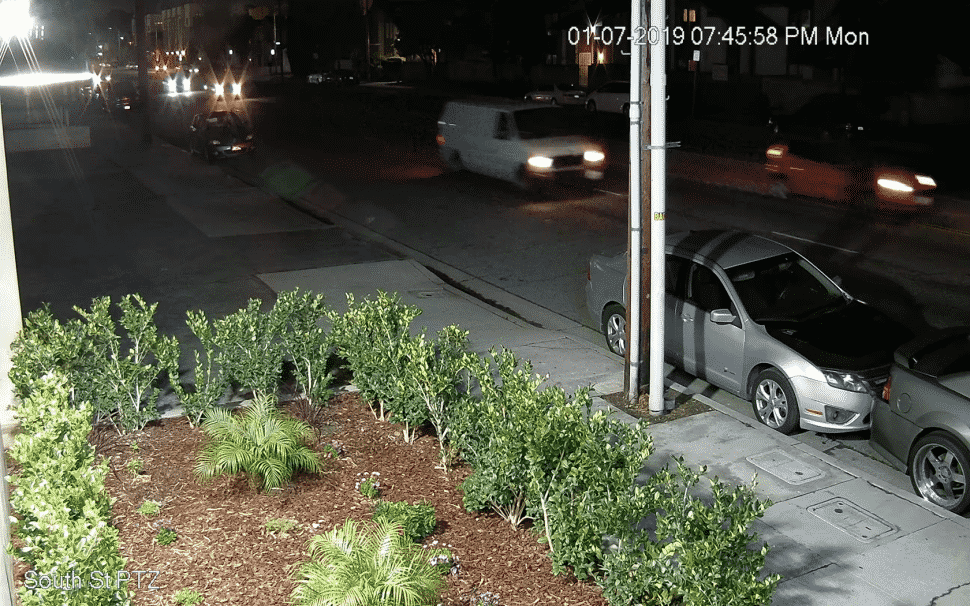 Long Beach police say this is the van that hit a 79-year-old pedestrian and dragged him to his death in North Long Beach on Jan. 7, 2019. Photo courtesy Long Beach police.