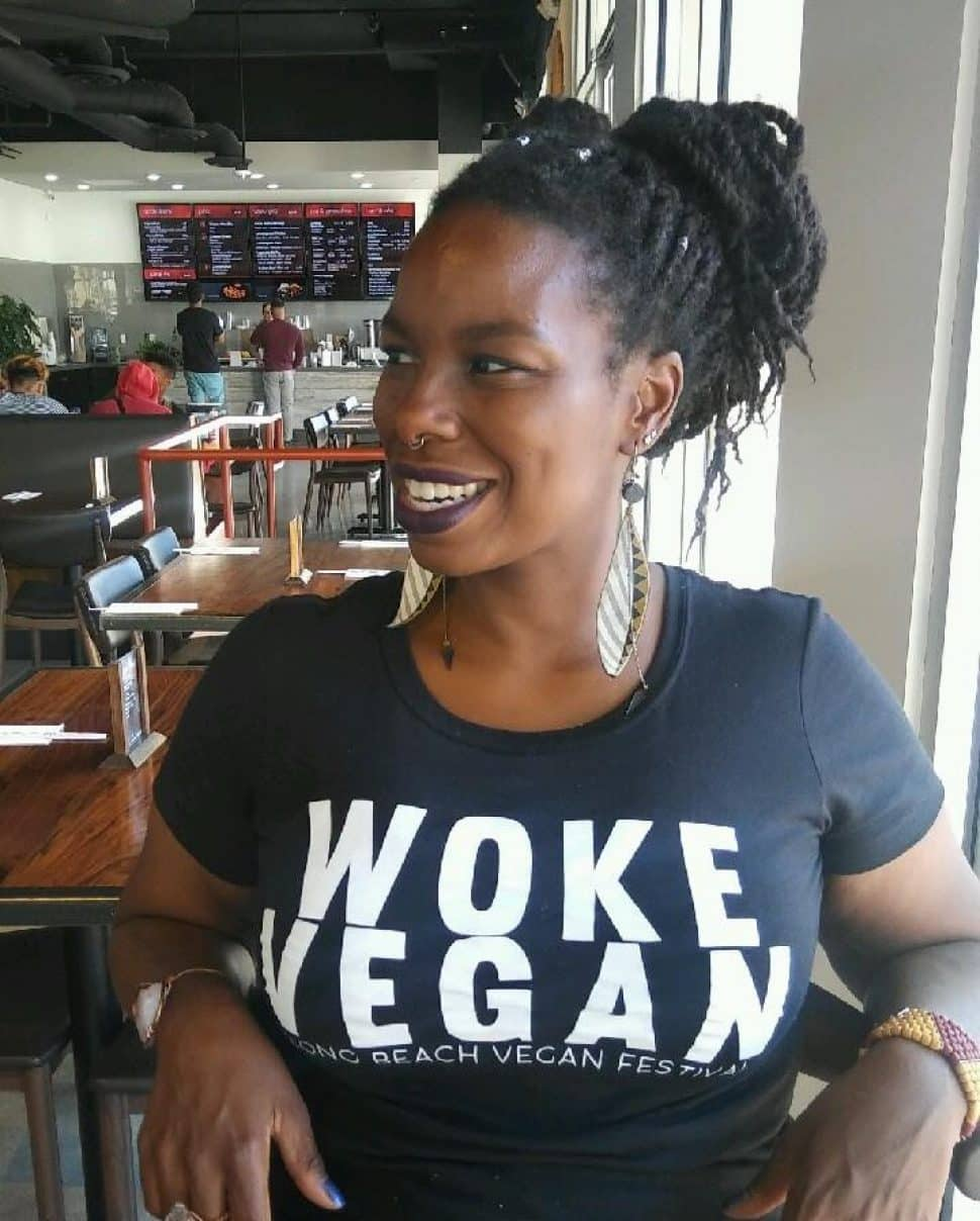 Long Beach Vegan Festival founder Kawani Brown.