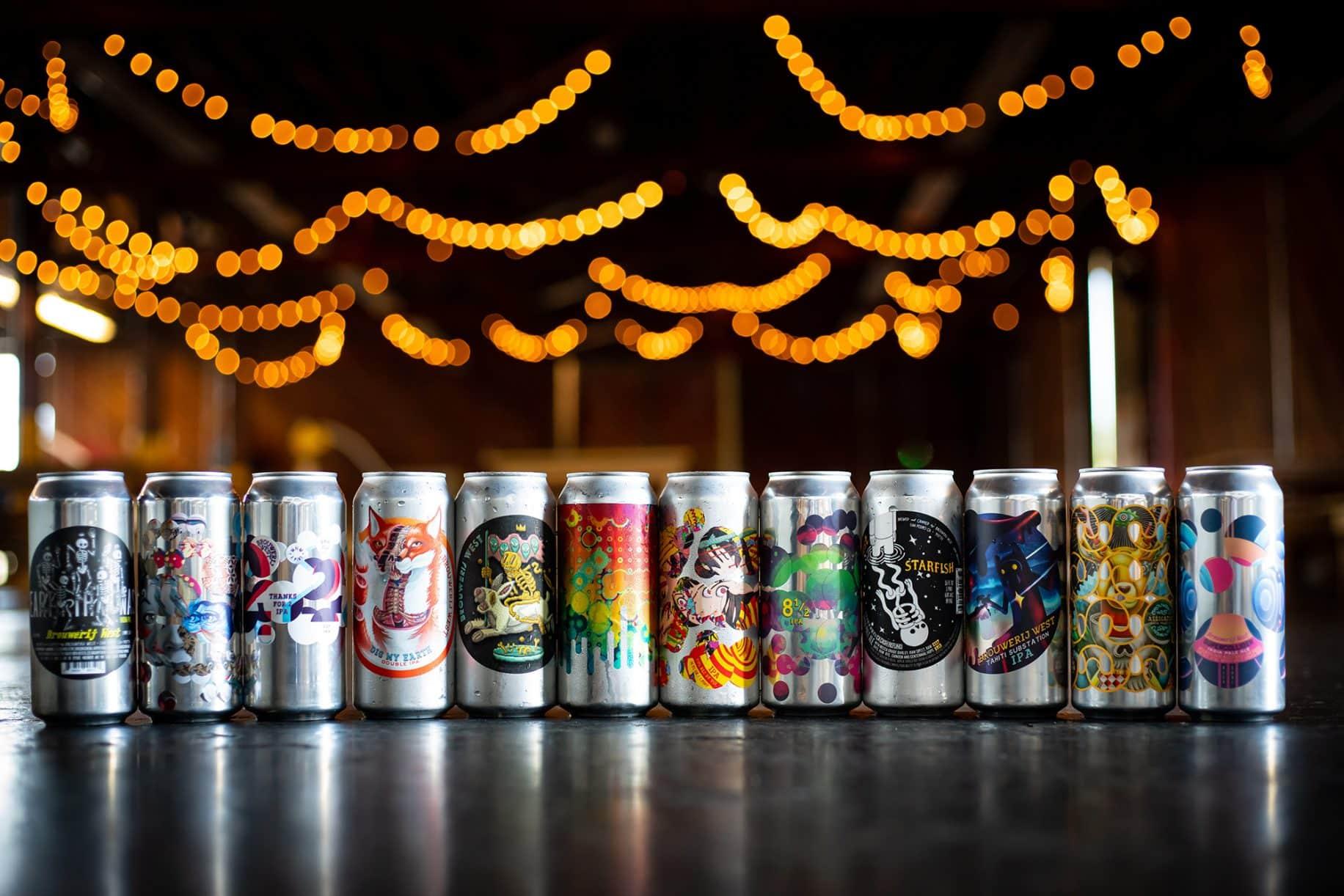 brouwerij west cans