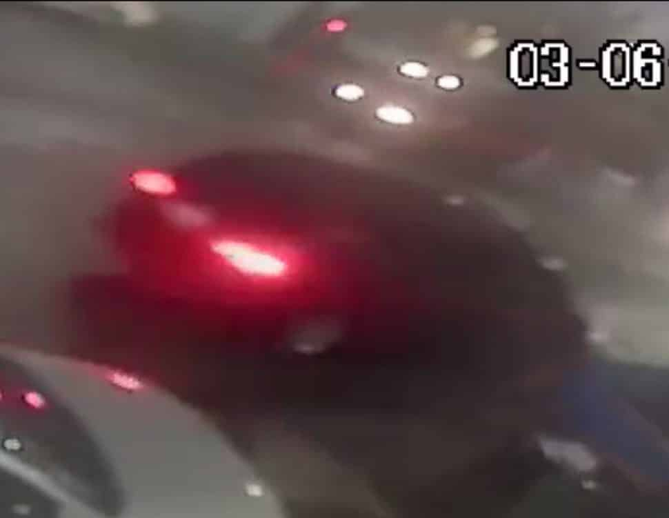Long Beach police released this photo of a van involved in a deadly hit-and-run crash on March 6 at Anaheim Street and Chestnut Avenue.