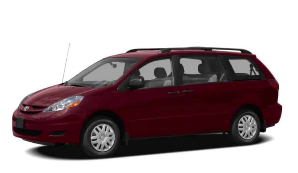 Police released this image as an example of the type of van the suspect was driving.