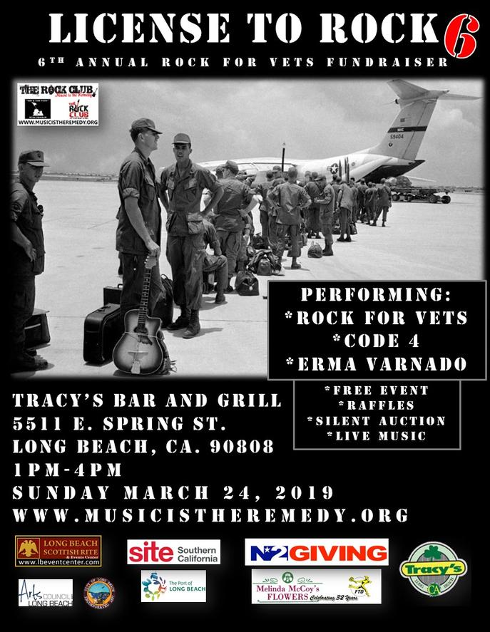 vets fundraiser flyer with a black and white photo of airmen standing in front of a plane
