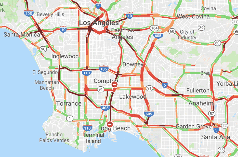 UPDATE: Traffic snarled on 710 freeway in Long Beach due to ... on