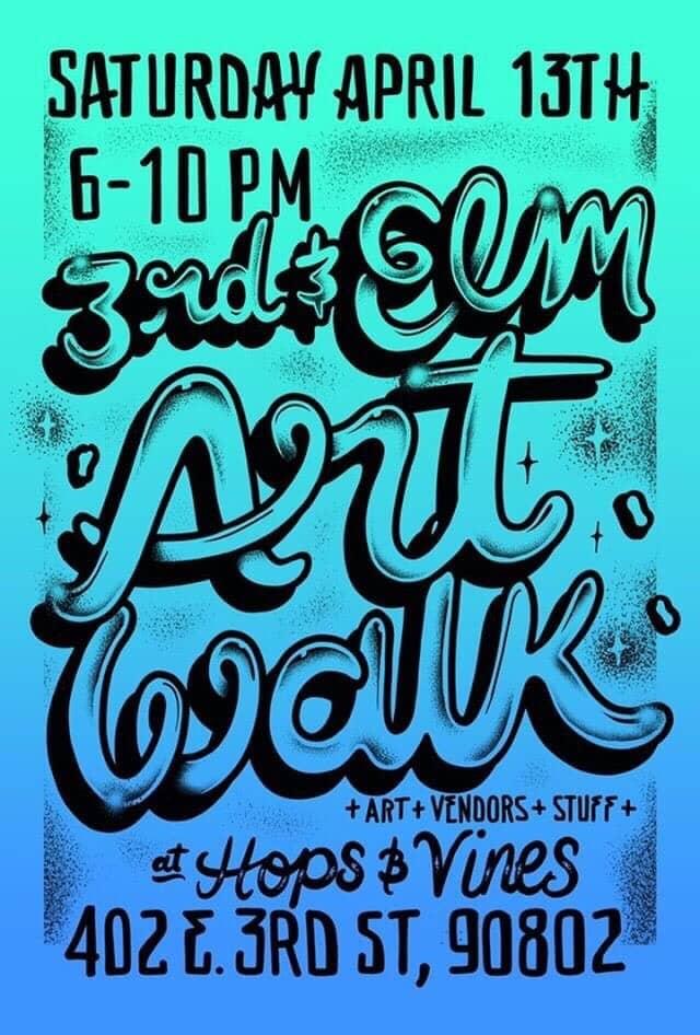 Flyer courtesy Hops & Vines.