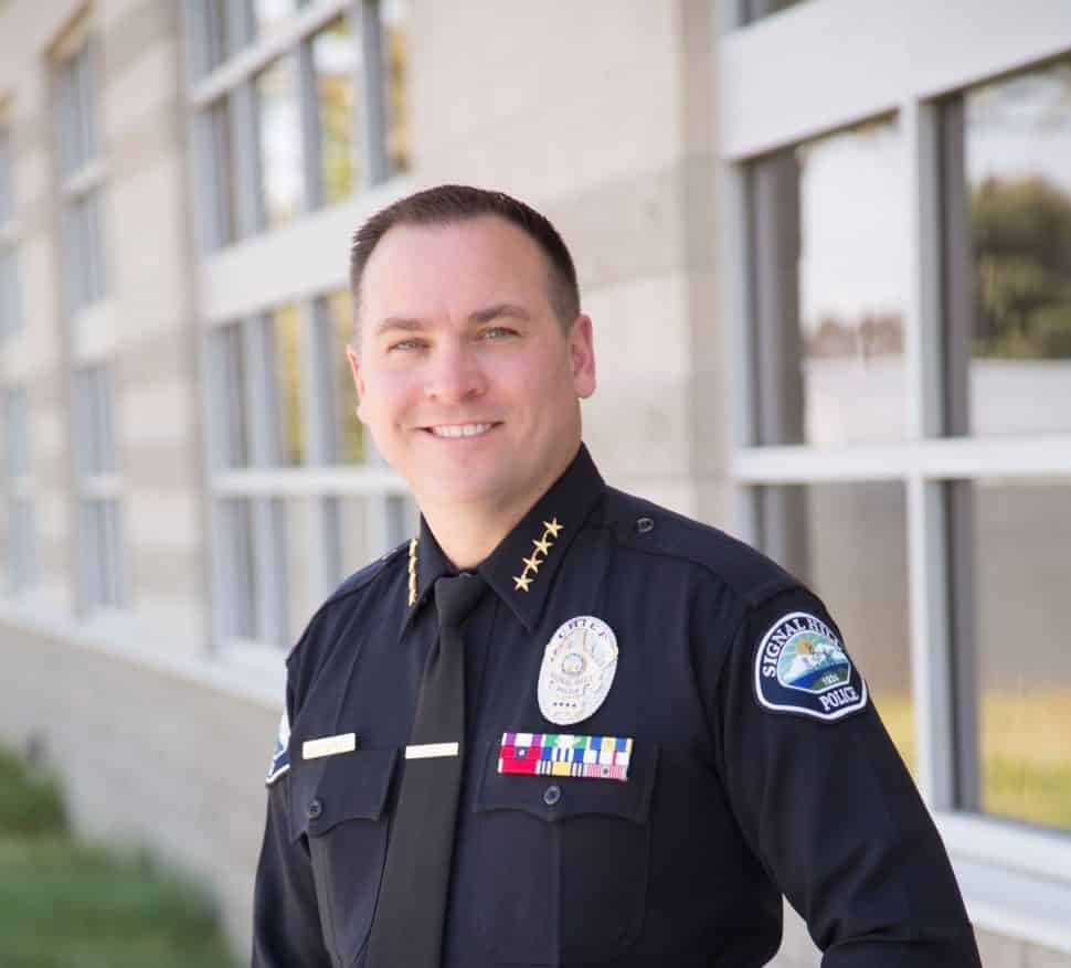 Signal Hill Police Chief Christopher Nunley. Courtesy Signal Hill.
